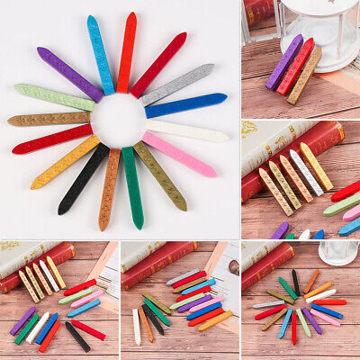 Traditional Wax Sealing Stick for Letter Stamp Seal Melting Candle Envelope New