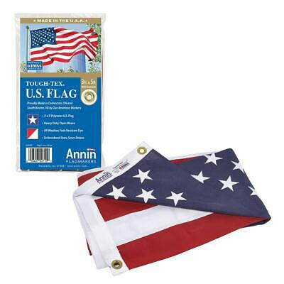 American Flag 3x5 ft. Tough-Tex the Strongest Longest Lasting Flag by Annin