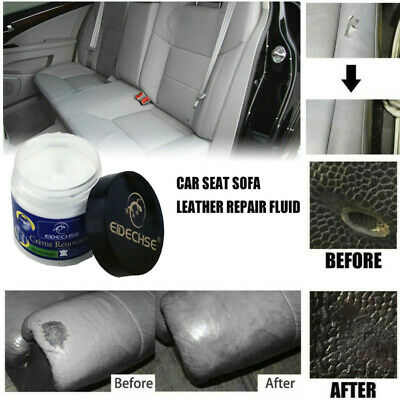 Smooth Leather Repair Cream Filler Compound Restoration Leather Cracks Burns A62
