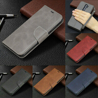 For Xiaomi Redmi Note 8 7 6 Pro Leather Phone Case Flip Card Holder Wallet Cover
