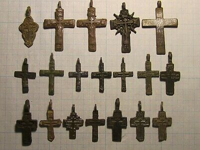 19 ancient cross 17-18 century lot № K34
