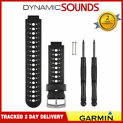 Garmin Replacement Watch Strap Band For Forerunner FR 230/235/630 Black & White