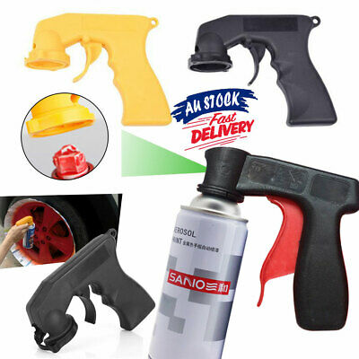 Car Auto Painting Grip Trigger Plastic W/Full Spray Gun Aerosol Handle Can