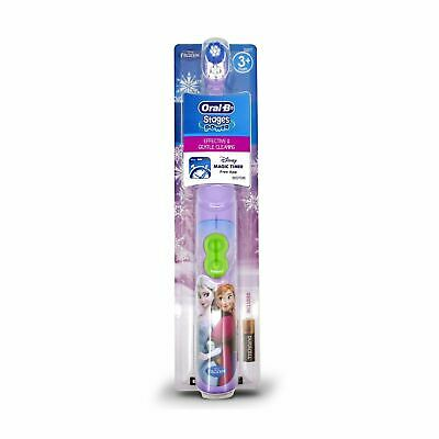 Oral-B Disney Frozen Stages Power Kids Battery Toothbrush (Assorted) 3+ Years