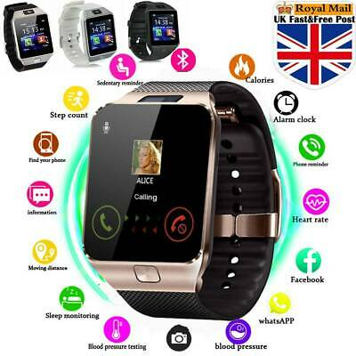 Bluetooth Smart Watch Camera Phone Mate GSM SIM For Android iPhone Samsung DZ09#