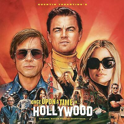 ONCE UPON A TIME IN HOLLYWOOD (Soundtrack) Orange Coloured VINYL LP (25th Oct.)