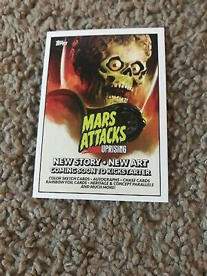 Mars Attacks P1 Exclusive Topps 2019 New York Comic Con Trading Card