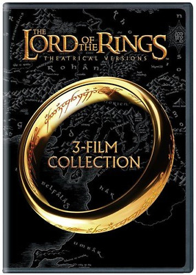 The Lord of the Rings Collection Triple Feature Box Set Various Action DVD NEW