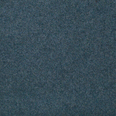 Light Blue Contract Velour Carpet Gel Backed, Office, Kitchen, Hardwearing