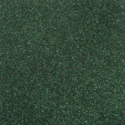 Green Contract Velour Carpet Gel Backed, Office, Kitchen, Hardwearing
