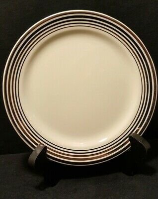 2 Pieces Taylor Smith & Taylor 1872 Pattern Bread & Butter Plates Art Deco
