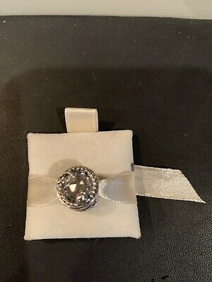 """NWT AUTHENTIC PANDORA Sterling Silver W/Stone """"Enchanted Nature"""" Clear CZ"""