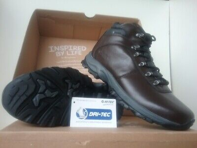 Men's Hi-Tec Eurotrek Lite Leather Walking Boots