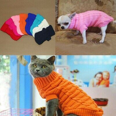 Dog Small Coat Jacket Puppy Winter Clothes Chihuahua Cat Sweater For Pet Dogs