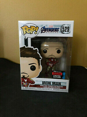 Funko Pop #529 IRON MAN GAUNTLET Avengers Endgame NYCC SHARED Exclusive Amazon
