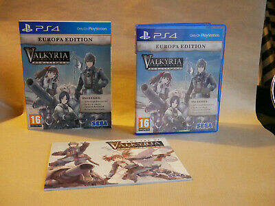 Valkyria Chronicles Remastered PS4 Europa Edition with free UK P&P.