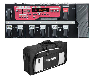 Boss RC-300 Loop Station + Boss L2 Carry Bag