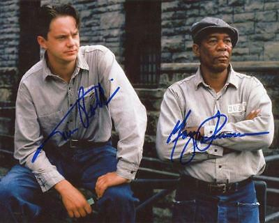 REPRINT - SHAWSHANK REDEMPTION Autographed Signed 8 x 10 Photo Poster RP