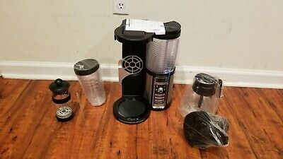 Ninja CF082 Coffee Bar Glass Carafe Milk Frother 4 Brew Sizes Free US Shipping