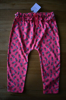 BNWT NEXT 18-24 months girls PINK PINEAPPLE TRAVELLERS*HAREEM TROUSERS