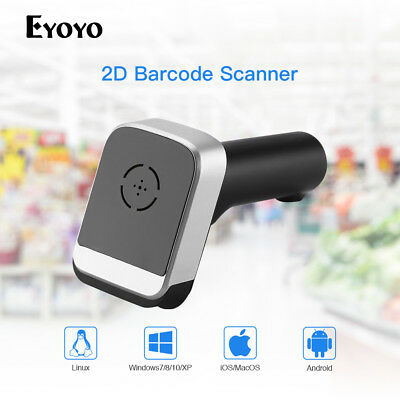 1D/2D/QR USB Wired & 2.4G Wireless &Bluetooth Barcode Scanner Reader Scan Device