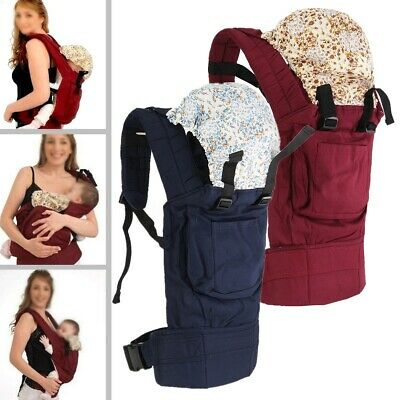 MECO Newborn Infant Baby Carrier Breathable Adjustable Wrap Sling Backpack