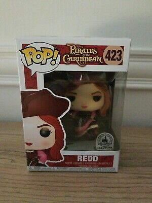 Funko Pop! Redd The Pirates of the Caribbean Disney Parks Exclusive #423