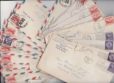 Us Soldier Cold War 29 Letters Correspondence From Germany 1955-56 Great Content
