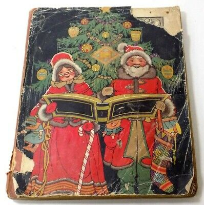 1920's Christmas Scrapbook Made for Sick Boy by Classmates & Valentine Cards
