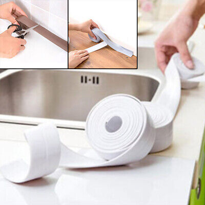 Hot sale! Self Adhesive Seal Tape Bathroom Kitchen Ceramic Wall Sticker Tape New