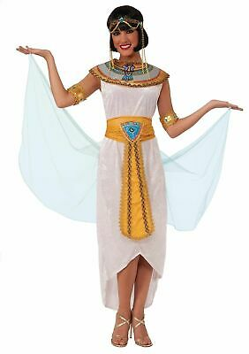 Cleopatra Cleo Egyptian Ancient Queen Of Nile Adult Womens Halloween Costume
