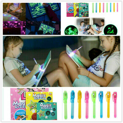 Draw With Light Developing And Fun Toy Drawing Board Educational Magic Painting