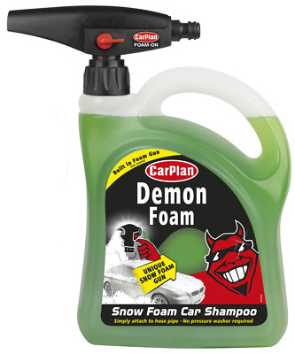 2 x Demon Foam With Snow Foam Gun 2L Carplan