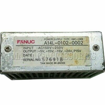1PC Used FANUC A14L-0102-0002 A14L01020002 Tested It In Good Condition