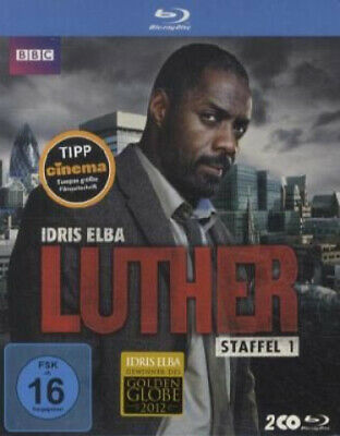 Luther - Staffel 1 - 2 Disc Bluray (Film) NEU