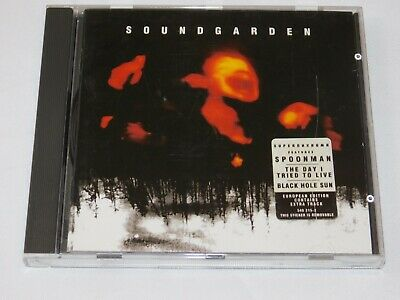 Superunknown by Soundgarden (CD, Mar-1994, A&M Records) Black Hole Sun Half