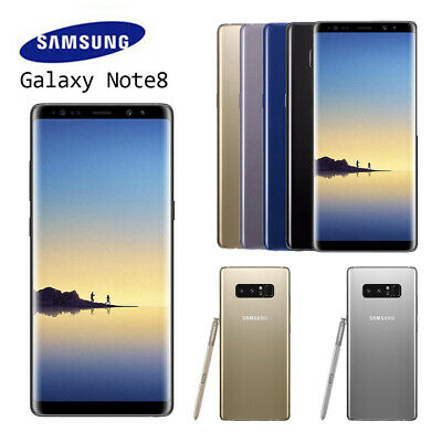 New Sealed Box Samsung Galaxy Note 8 N950F LTE 4G Mobile 64GB UK NEW FREE SHIP