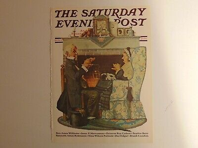The Saturday Evening Post OCT 22 1927  (REPRINT) Norman Rockwell (COVER ONLY)