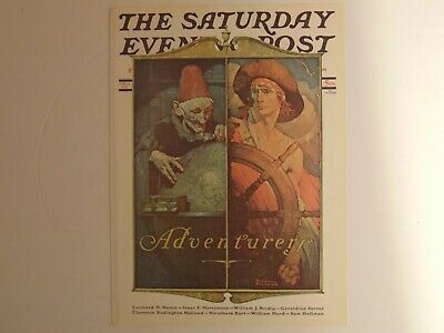 The Saturday Evening Post April 14 1928 (REPRINT) Norman Rockwell (COVER ONLY)