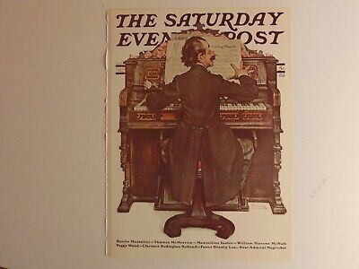 The Saturday Evening Post June 23 1928 (REPRINT) Norman Rockwell (COVER ONLY)