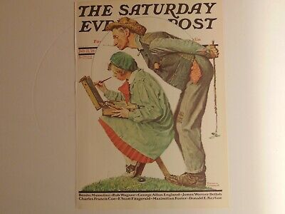 The Saturday Evening Post July 21 1928 (REPRINT) Norman Rockwell (COVER ONLY)