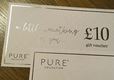 Pure Collection £10 Gift Voucher