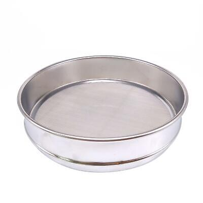 1pc 30 Mesh 0.6mm Aperture Lab Standard Test Sieve Stainless Steel Dia 200mm