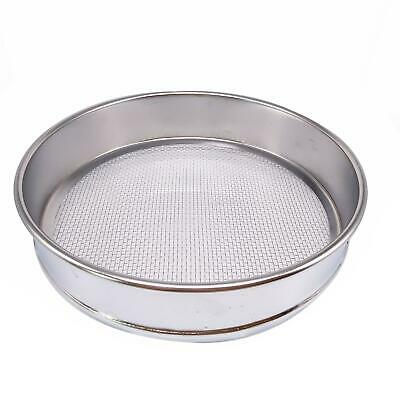 1pc 10 Mesh 2mm Aperture Lab Standard Test Sieve Stainless Steel Dia 200mm