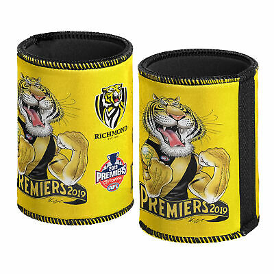 Richmond Tigers AFL Premiers 2019 Caricature Can Cooler Stubby Holder