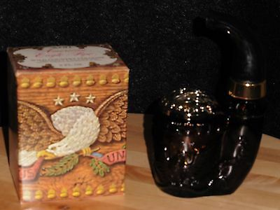 AVON AMERICAN EAGLE PIPE DECANTER 1974-1975 iN ORIGINAL BOX