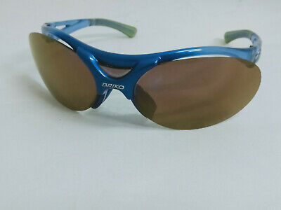 Briko Blue Frame Sports Cycling Glasses Sunglasses Made in Italy