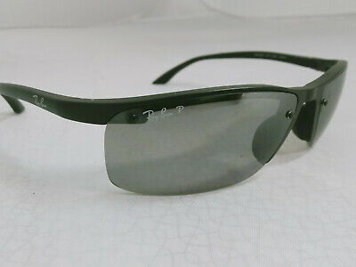 Rayban RB4056 Polarized Sunglasses Black Made in Italy