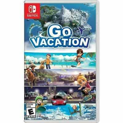 Go Vacation (Nintendo Switch, 2018) (EU Version Works in USA)