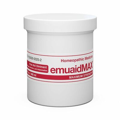 Emuaid MAX First Aid Ointment 16oz - Eczema Acne Dermatitis Psoriasis & More